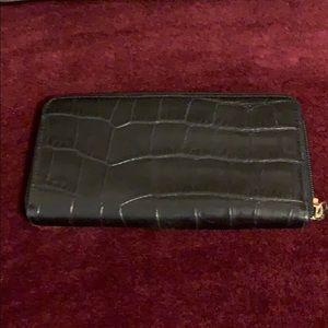 Francesco Biasia leather wallet